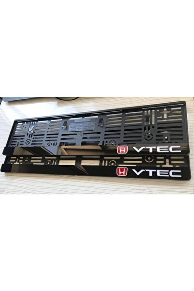 3M Honda Vtec Logoluakmatik Pleksi Plakalık