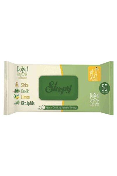 Sleepy Sirkeli Kekikli Limonlu Islak Mendil 50 Li (24 Adet )