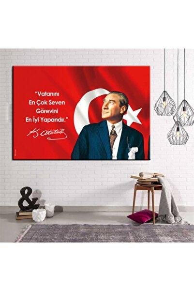 ASTABLO 70x100 Atatürk Makam Panosu Tablo