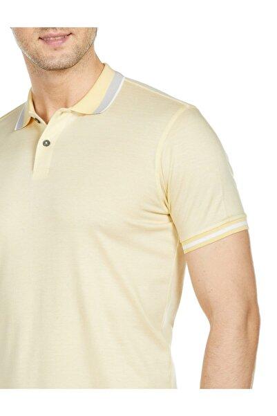 Bisse Erkek Sarı Polo Yaka T-Shirt