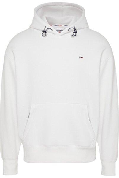 Tommy Hilfiger Erkek Beyaz Sweatshirt