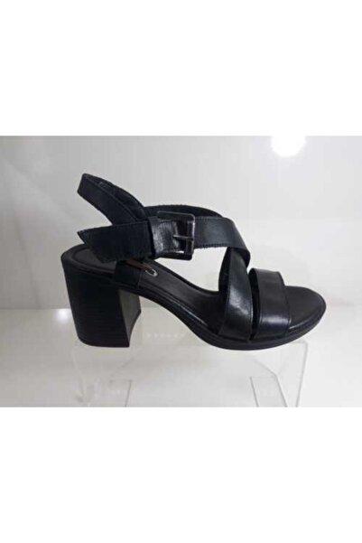 Bella Kadın Siyah Topuklu Ayakkabı