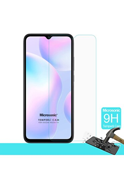 Microsonic Xiaomi Redmi 9a Tempered Glass Screen Protector