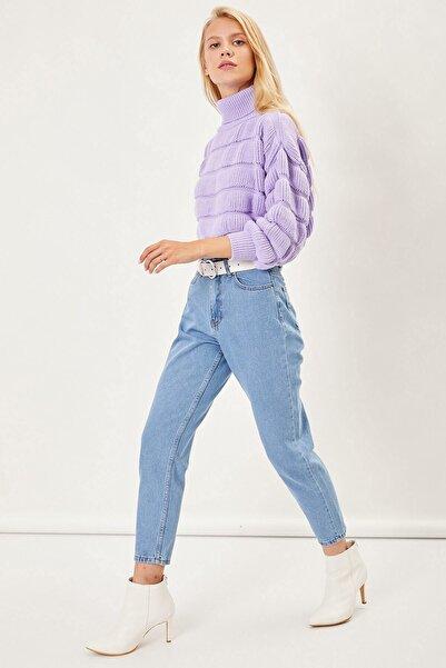 Arma Life Kadın Açık Mavi Mom Pantolon
