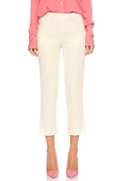 THEORY Kadın Düz Desen Beyaz Pantolon