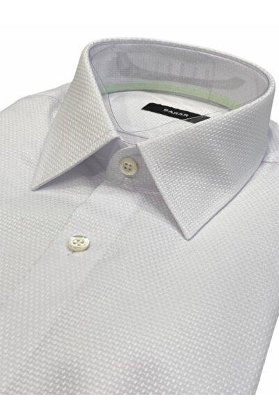 Sarar Erkek Beyaz Frank Sob Slim Fit Gömlek