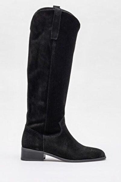 Kadın Symer Sıyah Çizme 20K009