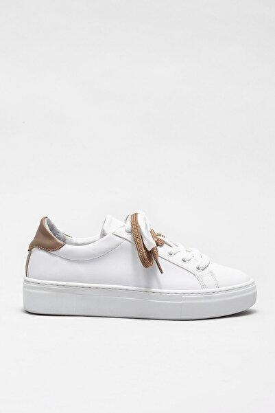 Elle Shoes Kadın Rowland Beyaz Casual Ayakkabı 20KTR2005