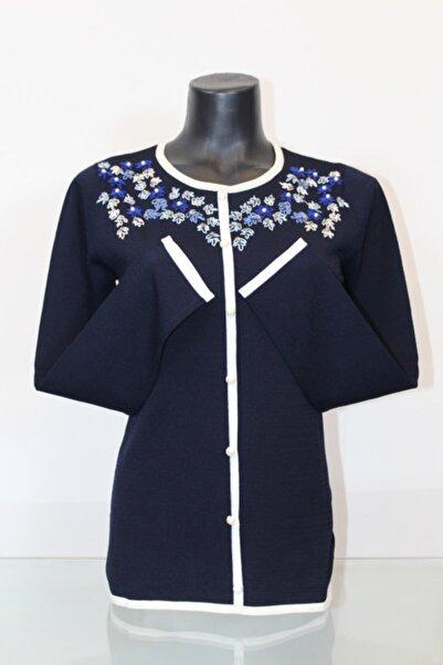 Pierre Cardin Kadın Düğme Detaylı Bluz
