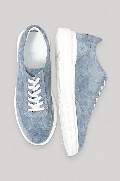 Lufian Toledo- Eg Deri Sneaker Açık Mavi