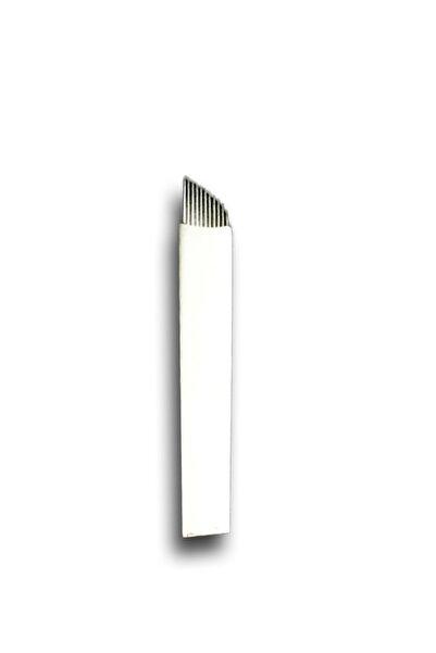 ARMONİKONYA 5 Adet 11 Pin Kalıcı Makyaj Dövme Microblading Iğnesi