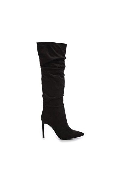 KEMAL TANCA Siyah Kadın Vegan Çizme Çizme 26 54701C BN CZM SK19/20