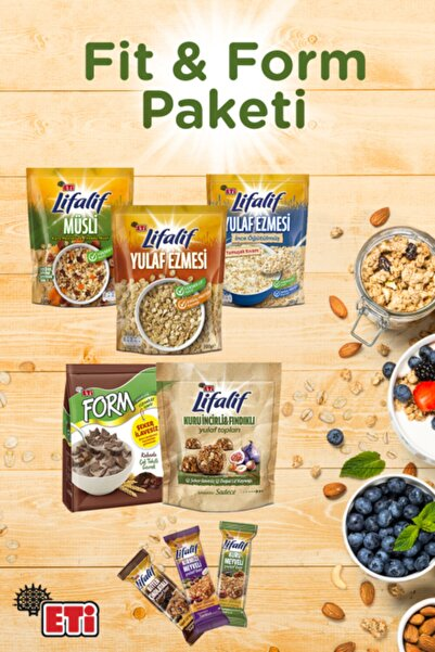 Eti Fit & Form Paketi