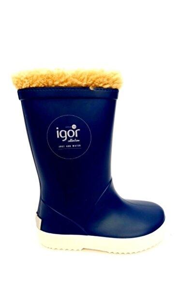 IGOR Kız Çocuk Lacivert Yağmur Çizmesi