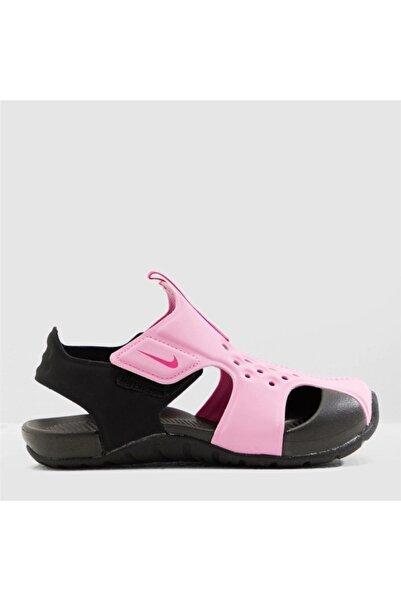Nike Kız Çocuk Pembe Sunray Protect 2 Sandalet 943826-602
