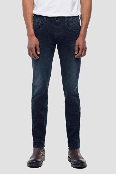 Replay Erkek Lacivert Anbass Slim Fit Jeans