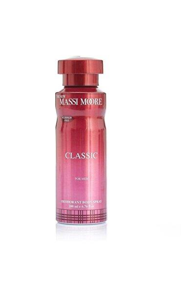 Hunca The New Massi Moore Classik Erkek Deodorant 200 Ml