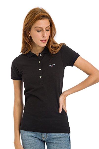 Galvanni Kadın  Siyah Polo Tişört - NYKO