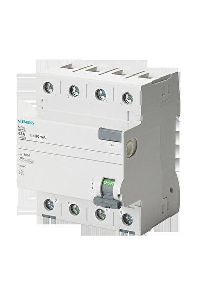Siemens 5sv4644-0 40a 300ma 400v (3faz+nötr) Kaçak Akım Rölesi