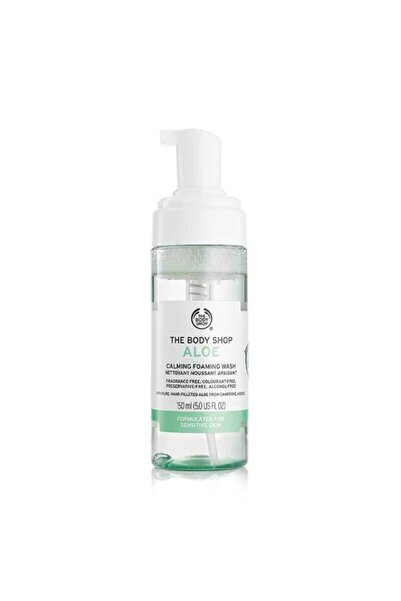 THE BODY SHOP Aloe Yüz Temizleme Köpüğü 150ml