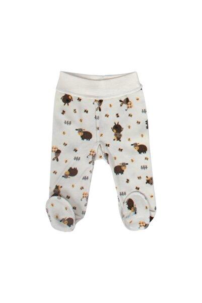 Sevi Bebe Prematüre Patikli Tek Alt Pantolon Art-6921 Kuzu