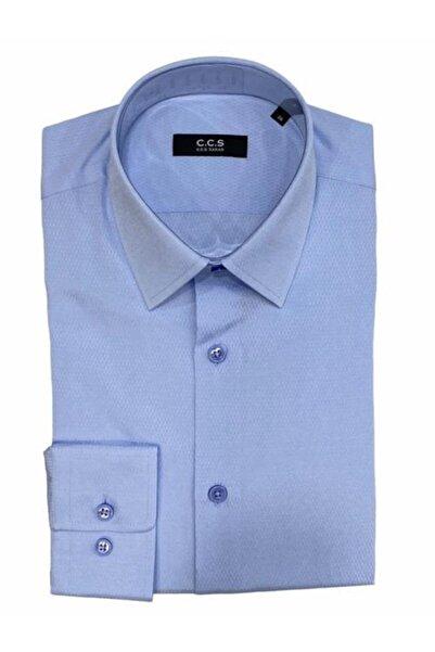 CCS Sarar Erkek Açık Mavi Frank So Slim Fit Gömlek
