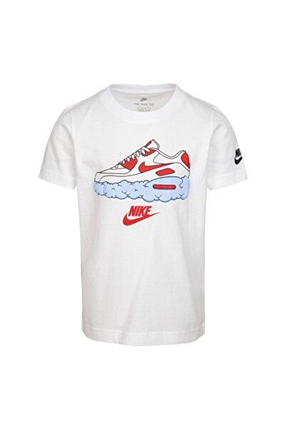 Nike Erkek Çocuk Beyaz T-Shirt 86g233-001