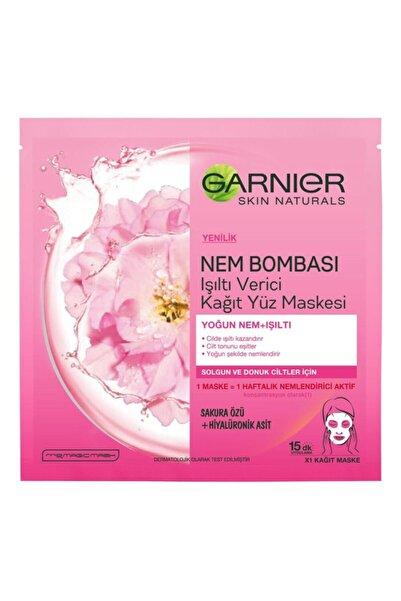 Garnier Garnıer Kağıt Maske Nem Bombası Doğal Işıltı Tüm Ciltler Için