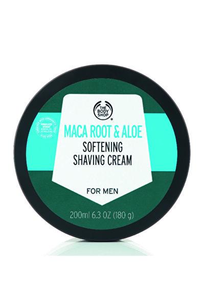 THE BODY SHOP Maca Root & Aloe Yumuşatıcı Tıraş Kremi 200ml
