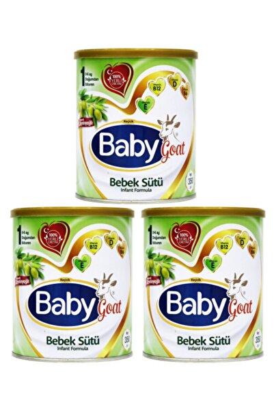 Baby Goat 1 Keçi Sütlü Organik Zeytinyağlı Bebek Sütü 350 Gr 3 Lü