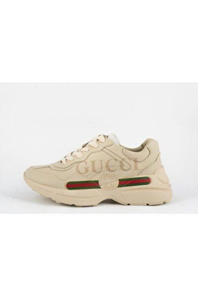 Gucci Erkek Krem Ayakkabı