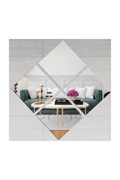 4 Parçalı 30 Cm X 30 cm Dekoratif Ayna