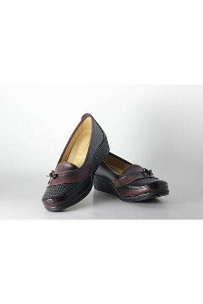 Roza Shoes Kadın Siyah Ortopedik Anne Ayakkabısı
