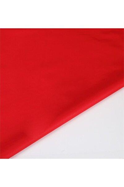 Wella Kırmızı Akfil Poplin Maskelik Kumaşı V72