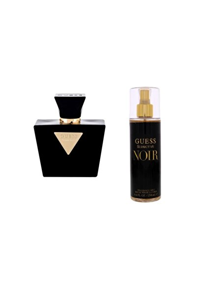 Guess Seductive Noir Edt 75 Ml Kadın Parfümü + Fragrance Mist 250 Ml