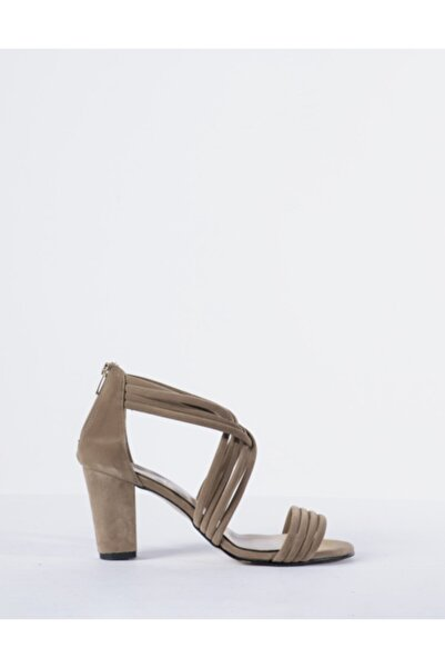 Vision Kadın Süet Topuklu Ayakkabı