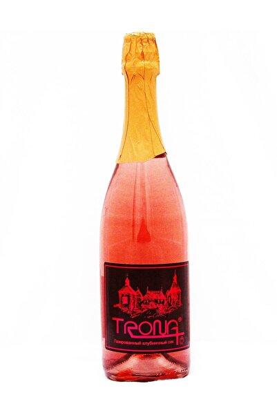 TRONA Çilek Aromalı Alkolsüz Şampanya
