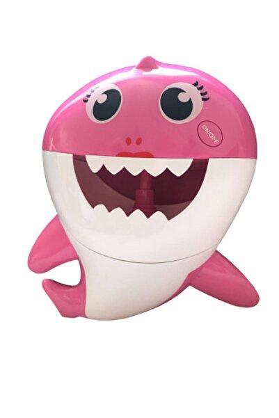 Shark Müzikli Sevimli Köpek Balığı (köpük Şelalesi)- Pembe