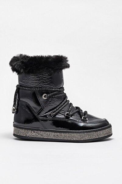 Elle Shoes Kadın Roselle-1 Sıyah Bot & Bootie 20KAY22