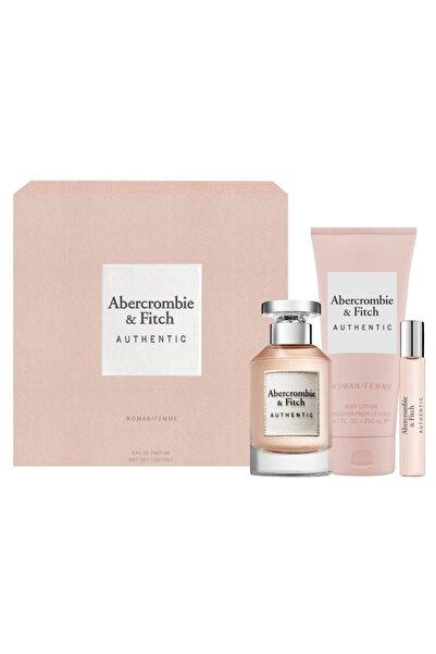 Abercrombie & Fitch Authentic Edp 100 Ml Kadın Parfüm Seti 85715166845