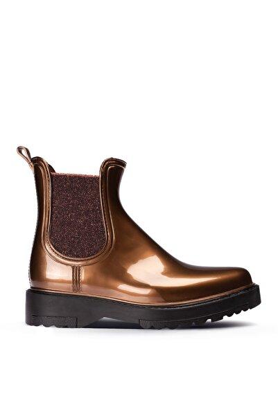 Deery Kadın Bakır Rengi Yağmur Botu