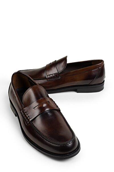 Deery Hakiki Deri Kahverengi Erkek Loafer