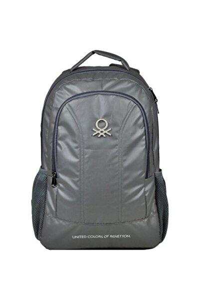 Benetton Unisex Çocuk Gri Junior Okul Sırt Çantası 96028