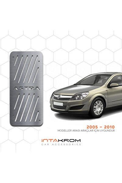 İntachrom Opel Astra H Krom Ayak Dinlendirme Pedalı - 2005 -2012 Hb - Sd