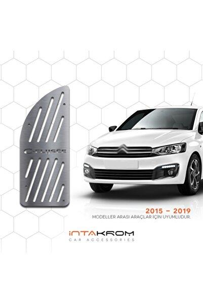 İntachrom Citroen C-elysee Krom Ayak Dinlendirme Pedalı - 2015 -2019