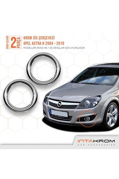 İntachrom Opel Astra H Krom Sis Çerçevesi 2 Parça 2004 - 2010 / Hb - Sd