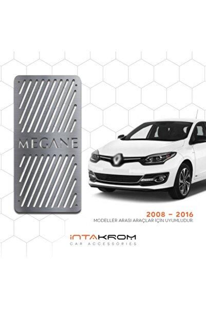 İntachrom Renault Megane 3 Krom Ayak Dinlendirme Pedalı 2008 - 2016