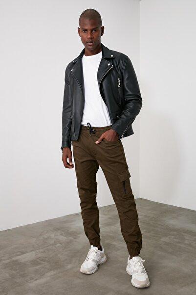 TRENDYOL MAN Haki Erkek Jogger Pantolon TMNAW21PL0213