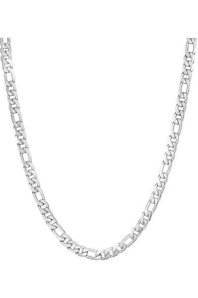 Toms Jewelry Unisex Gri Çelik Kolye