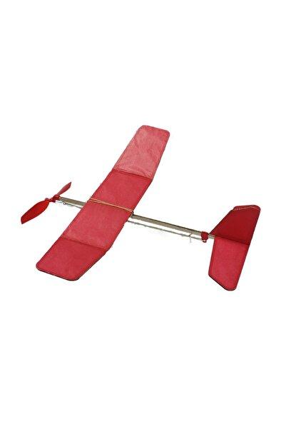 Hobi Modelci Lastik Motorlu Model Uçak - Maket Uçak - 3d Puzzle - Uçman